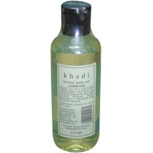 Khadi Herbal Bath Oil Sandalwood