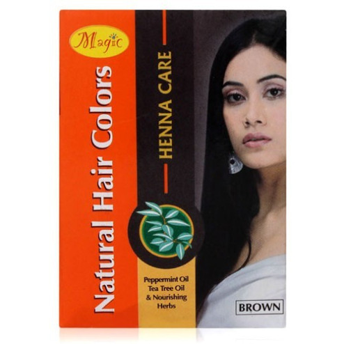 Brown Natural Hair Color (Nature Essence)