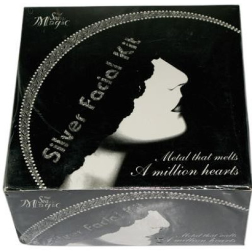 Silver Facial Kit (Natures Essence)