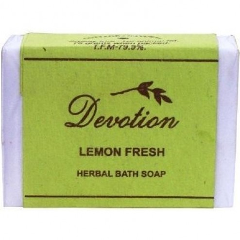 Lemon Fresh Herbal Bath Soap (Devotion)