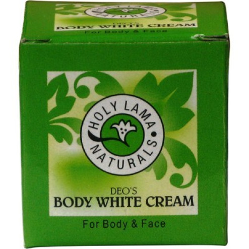HOLY LAMA BODY WHITE CREAM