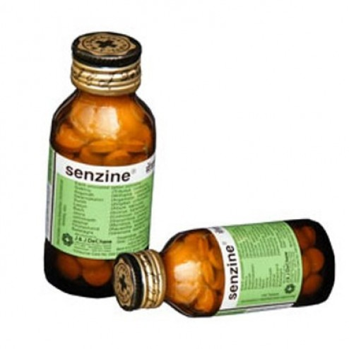 Senzine Tablets (J & J DeChane)