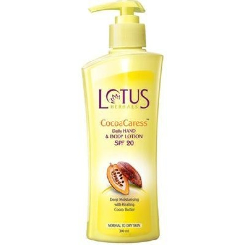 Cocoa Caress - SPF 20 (Lotus Herbals)