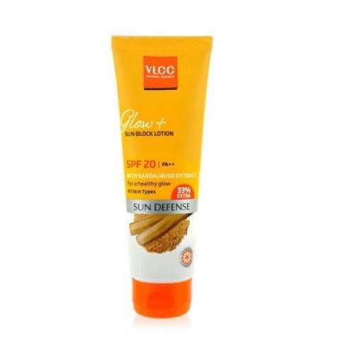 VLCC Natural Sciences Glow Sun Block Lotion