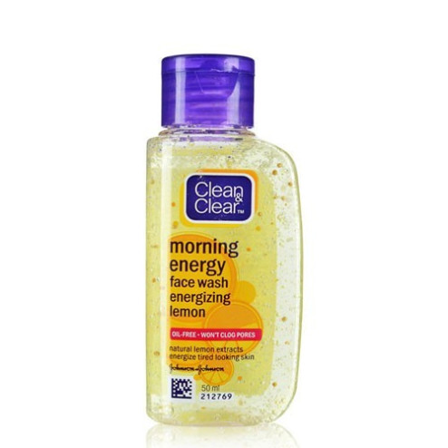 Clean & Clear Energy Face Wash Energizing Lemon