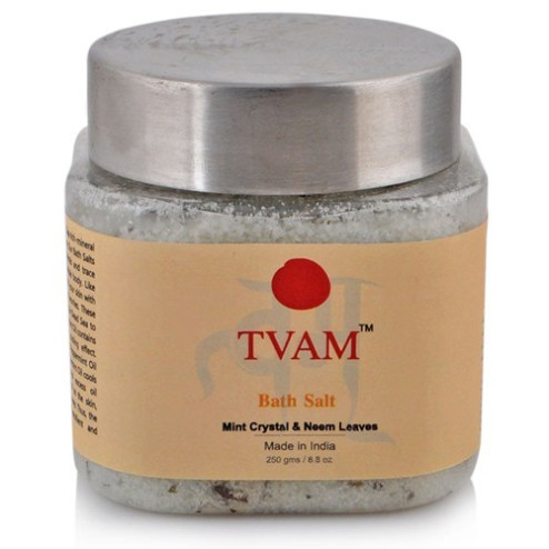 Tvam Bath Salt Mint Crystal & Neem Leaves