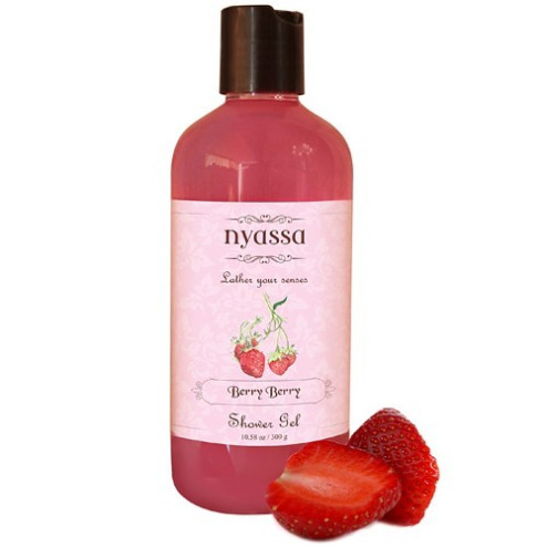Nyassa Berry Berry Shower Gel