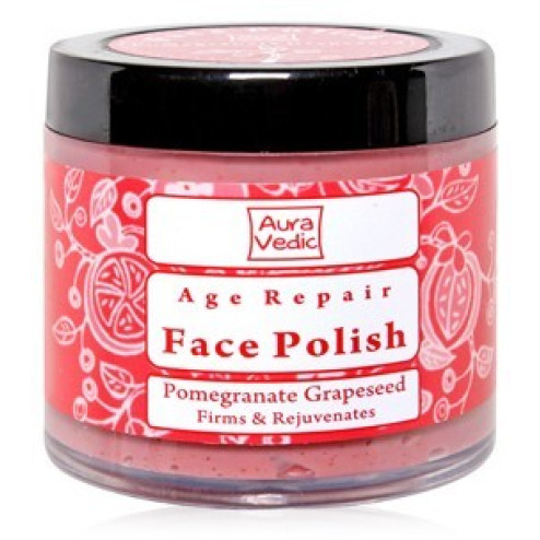 Aura Vedic Pomegranate Grapeseed Face Polish