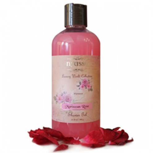 Nyassa Moroccan Rose Shower Gel