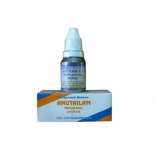 Anu Taila - Ayurvedic Oil for Sinusitis & Nasal Allergy Relief