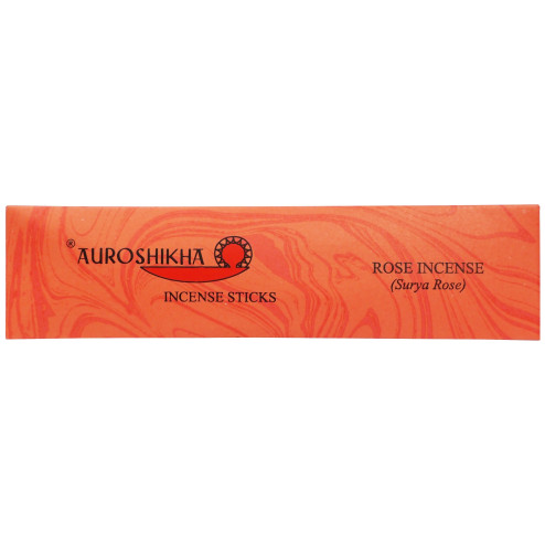 Auroshikha Surya Rose Incense 15 Sticks