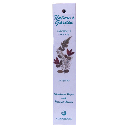 Natures Garden Patchouli Incense 20 Sticks