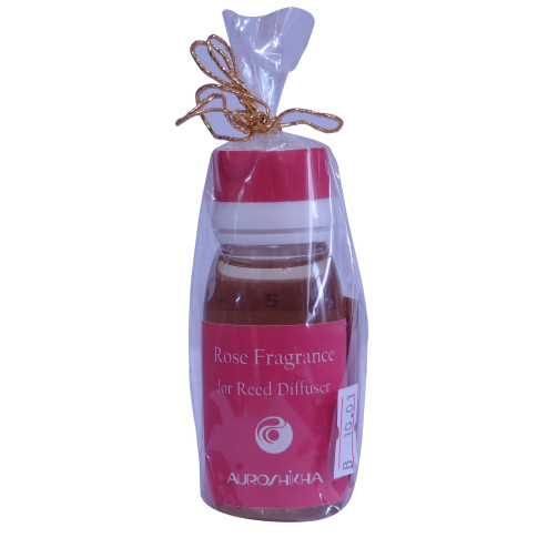Auroshikha Rose Fragrance Reed Diffuser 50ml