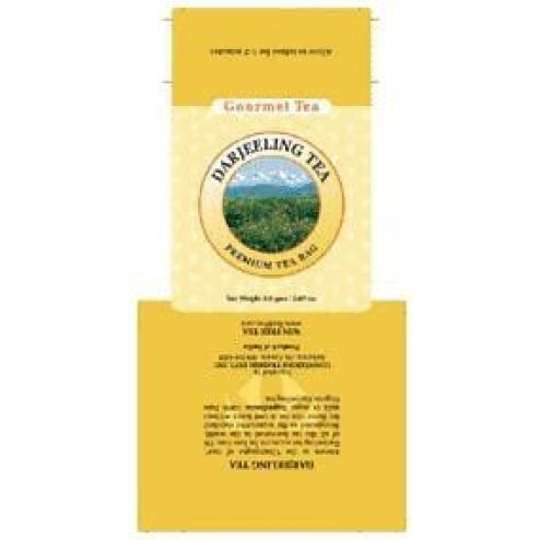 Darjeeling Tea Bag Carton