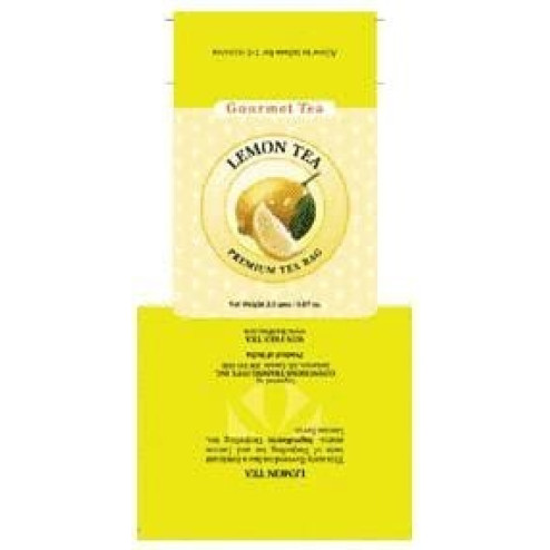 Lemon Tea Bag Carton