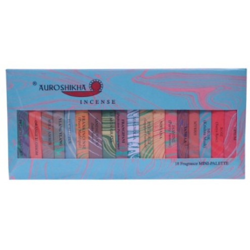Auroshikha Mini Palette 18 Fragrance Incense