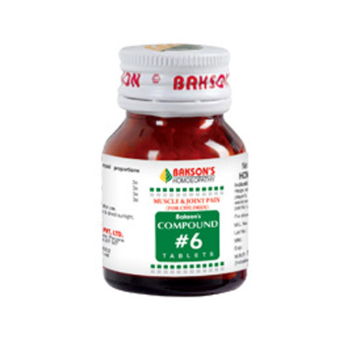 Bakson Compound 6 (Pain Joints And Muscles For Children)
