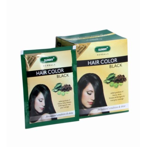 Bakson Sunny Herbal Hair Colour (Black)