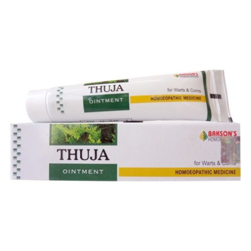 Baksons Thuja Ointment For Warts, Corns, Polypi