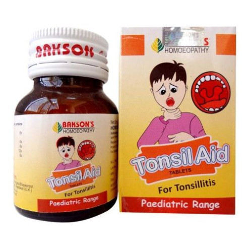 Bakson Tonsil Aid (Paediatric) Tablets