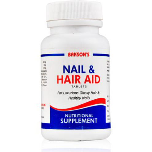 Baksons Nail And Hair Aid Tablets