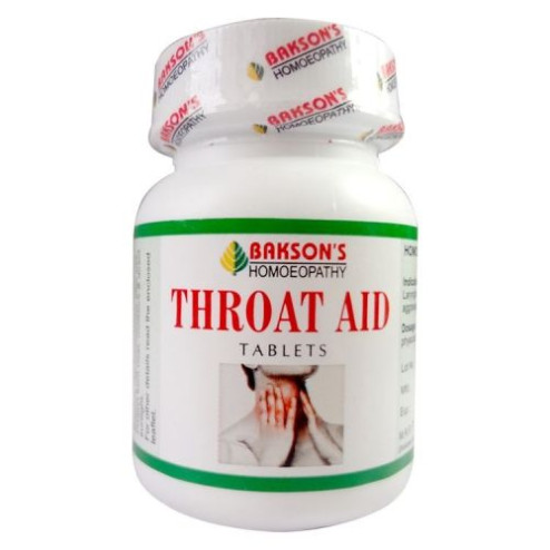Baksons Throat Aid Tablets