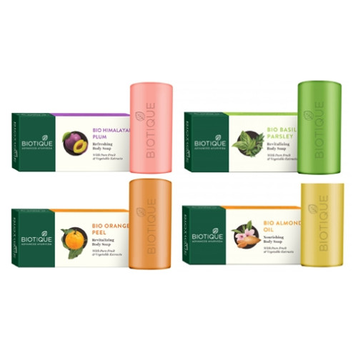 Biotique Soaps Pack