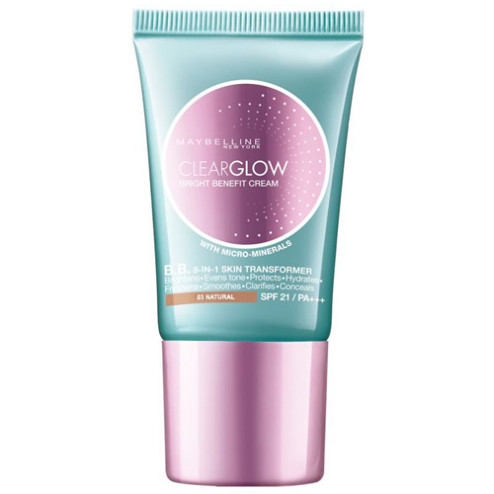 Maybelline Clear Glow Bright Benefit Cream - Natural 03