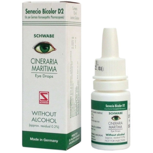 Dr. Willmar Schwabe Maritima Eye Drops Without Alcohol