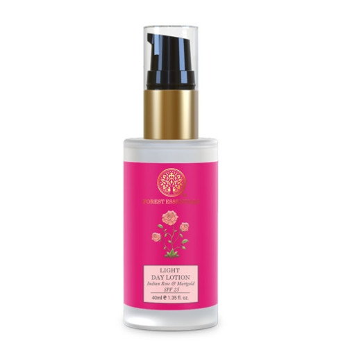 Forest Essentials Light Day Lotion Indian Rose & Marigold