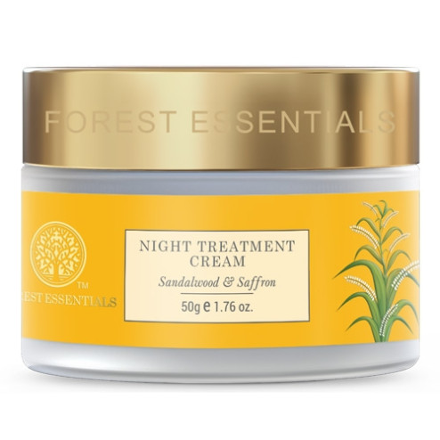 Forest Essentials Night Treatment Cream Sandalwood & Saffron