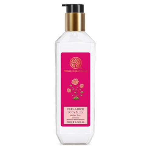 Forest Essentials Ultra-Rich Dazzling Body Lotion Indian Rose Absolute