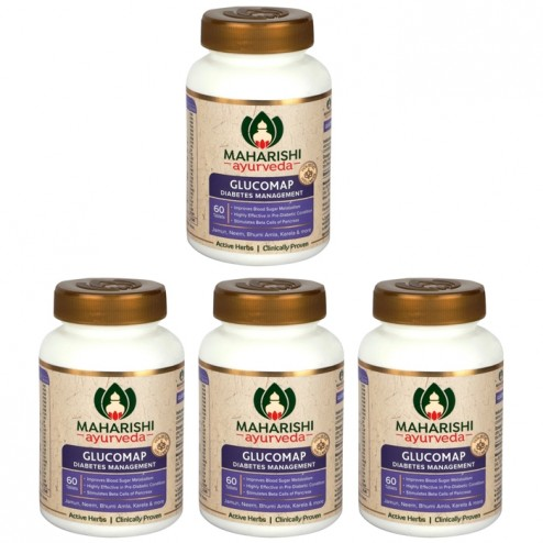Glucomap Tablets (Ayurvedic Formula for Healthy Blood Sugar Levels)