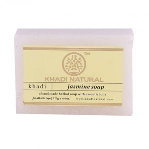 Jasmine Handmade Herbal Soap - Khadi Cosmetics