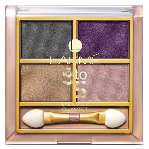 Lakme9 to 5 Eye Color Quartet Eye Shadow - Silk Route