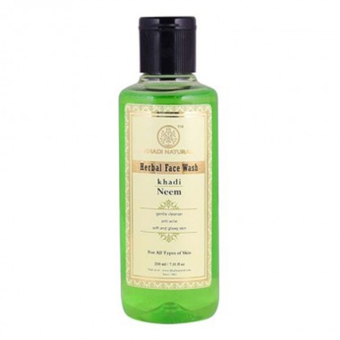 Neem Khadi Herbal Face Wash