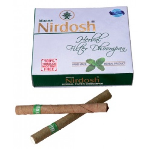 Nirdosh Herbal Cigarettes NEW PACK