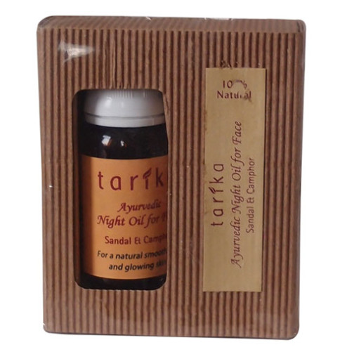 Tarika Ayurlabs Night Oil For Face Sandal & Champhor
