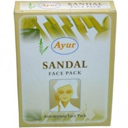 Ayur Sandal Face Pack