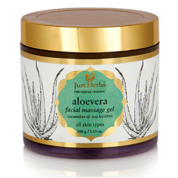 Aloevera Facial Massage Gel (Just Herbs)