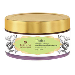 Just Herbs I Brite Almond-Green Tea Nourishing Under Eye Night Cream
