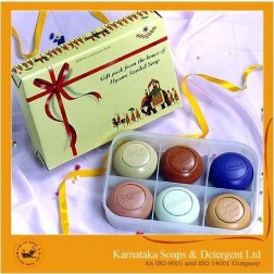 Mysore Sandal (6 in 1) Soaps Pack