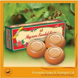 Mysore Sandal Soap (Set of 3)