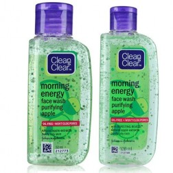 Clean & Clear Energy Face Wash Purifying Apple