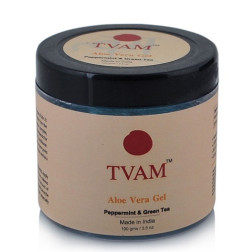 Tvam Aloe Vera Gel Peppermint & Green Tea