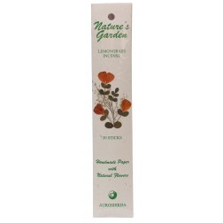 Natures Garden Lemongrass Incense 20 Sticks