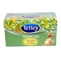 Tetley Green Tea with Lemon & Honey