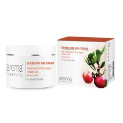 Aroma Treasures Bearberry AHA Fairness Cream