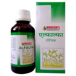 Baksons Alfalfa Tonic For Health, Growth