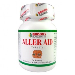 Baksons Aller Aid Tablets For Allergic Rhinitis